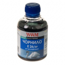 Чернила WWM Epson XP-600, XP-605, XP-700, XP-800, 200г (Black Pigment) E26/BP