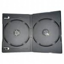 Бокс для 2-DVD диска 14мм чорний глянець