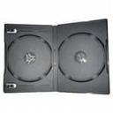 Бокс для 2-DVD диска 9мм черный глянец