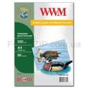 Фотобумага WWM, глянцевая двусторонняя, 220g, m2, А4, 1000л (GD220.1000)