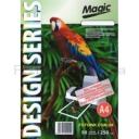 Дизайнерская фотобумага Мagic А4, двухсторонняя Нефритовый  Перламутр  250 г /м²,50л
