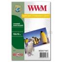 Фотобумага WWM, сатиновая полуглянцевая 260g, m2, 100х150 мм, 50л (MS260.F50, C)