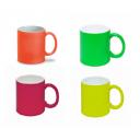 Чашки для сублимации неоновые матовые 330 мл, Premium 36 штук