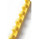 Пружина пластиковая Ф8, цвет желтый