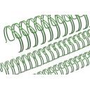Пружина металлическая зеленая d.6,4 - 34 петли, 100шт