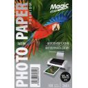 Фотобумага сатиновая полуглянцевая Мagic 10х15, 260 г/м, 100 листов
