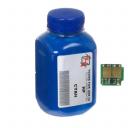 Тонер + чіп HP CLJ CP1215 Cyan (АНК, 1500140)