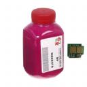 Тонер + чіп HP CLJ CP1215 Magenta (АНК, 1500150)